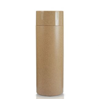 Brown Plastic Bottle With Cap