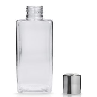 200ml Square Plastic Bottle With Disc-Top Cap