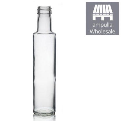 250ml Clear Glass Dorica Bottles Wholesale