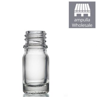 5ml Clear Glass Dropper Bottle bulk