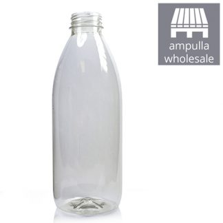 1000ml Classic Clear bottle bulk