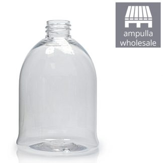 500ml Clear PET Bell Bottle Bulk